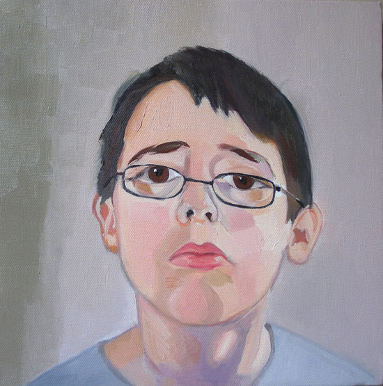 Boy with glasses, Kathy Honey Studio